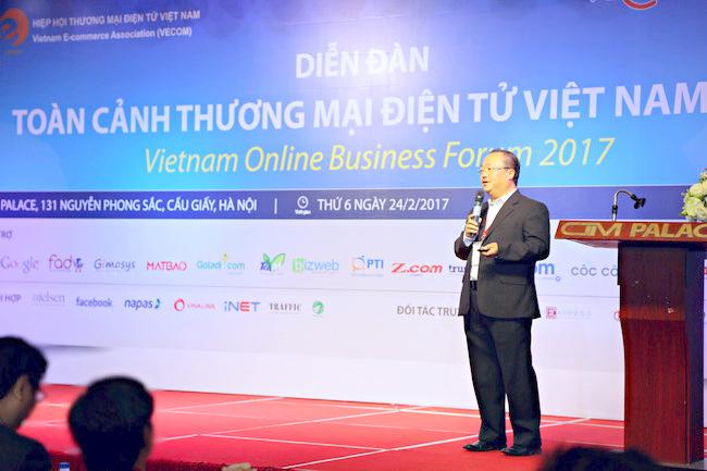 Diễn đàn Toàn cảnh Thương mại điện tử Việt Nam 2017 chính thức diễn ra tại Hà Nội