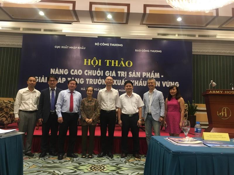 Hội thảo: Nâng cao chuỗi giá trị sản phẩm - Giải pháp tăng trưởng xuất khẩu bền vững